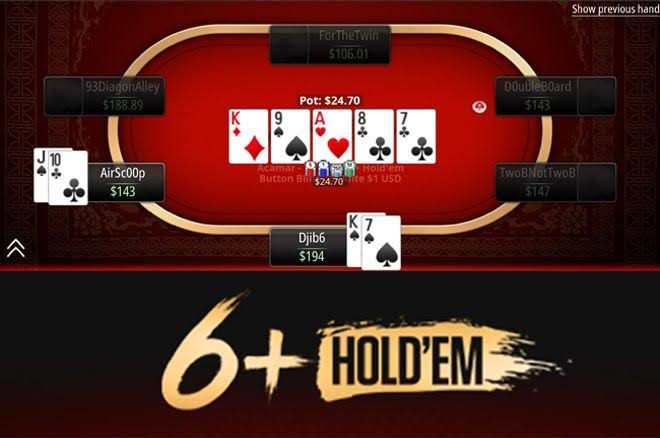 Bermain Six Plus Holdem Poker